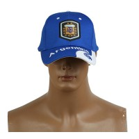 2014 Brazil World Cup Soccer Argentina Blue Snapback Hat