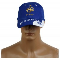 2014 Brazil World Cup Soccer France Blue Snapback Hat