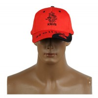 2014 Brazil World Cup Soccer Holland Orange Snapback Hat