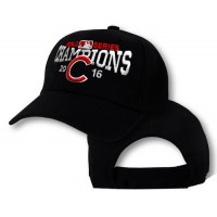 2016 Champions MLB Chicago Cubs World Series Baseball Caps Black