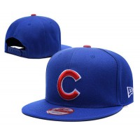 2016 Champions MLB Chicago Cubs World Series Snapback Hats All Blue