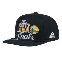 Golden State Warriors 2017 NBA Finals Black Adjustable Hat