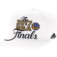 Golden State Warriors 2017 NBA Finals White Adjustable Hat