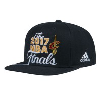 Cleveland Cavaliers 2017 NBA Finals Black Adjustable Hat
