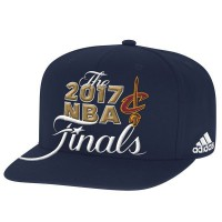 Cleveland Cavaliers 2017 NBA Finals Navy Adjustable Hat