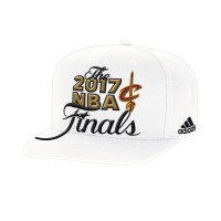 Cleveland Cavaliers 2017 NBA Finals White Adjustable Hat
