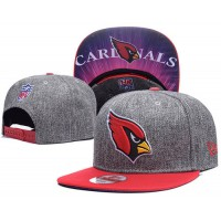 Arizona Cardinals Charcoal Gray Snapback Hats Galaxy UnderBrim