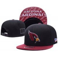 Arizona Cardinals NFL Snapback Hats Sides American flag Logos