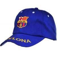 Barcelona Blue Soccer Caps