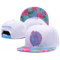 Boston Celtics White Out Trop Snapback Hats