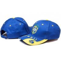 Brazilian Blue Soccer Hat