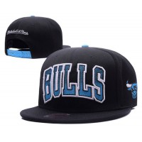 Chicago Bulls Classics Tackle Trilled Snapback Hats