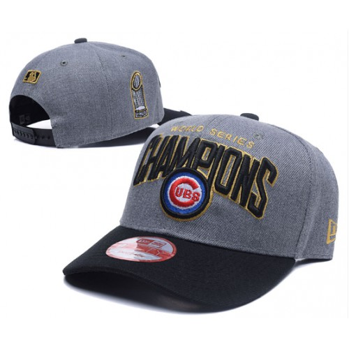 separation shoes f752e 89fa0 ... low price chicago cubs grey 2016 world series champions adjustable hat  9b1a2 eba92