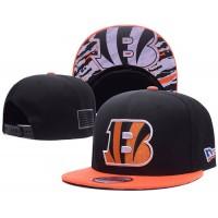 Cincinnati Bengals NFL Snapback Hats Sides American flag Logos