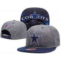 Dallas Cowboys Charcoal Gray Snapback Hats Galaxy UnderBrim