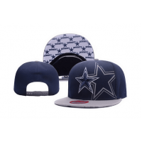 Dallas Cowboys NFL Navy White Snapback Hats