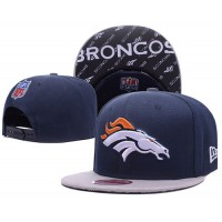 Denver Broncos NFL Navy Gray Snapback Hats