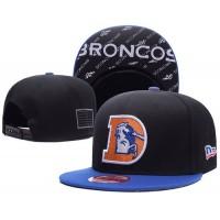 Denver Broncos NFL Snapback Hats Sides American flag Logos