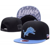 Detroit Lions NFL Snapback Hats Sides American flag Logos
