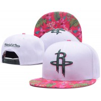 Houston Rockets White Out Trop Snapback Hats