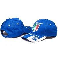 Italy Blue Soccer Hat