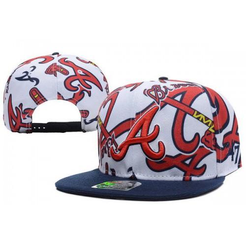4efa4289933 MLB Atlanta Braves Snapback Hats 25