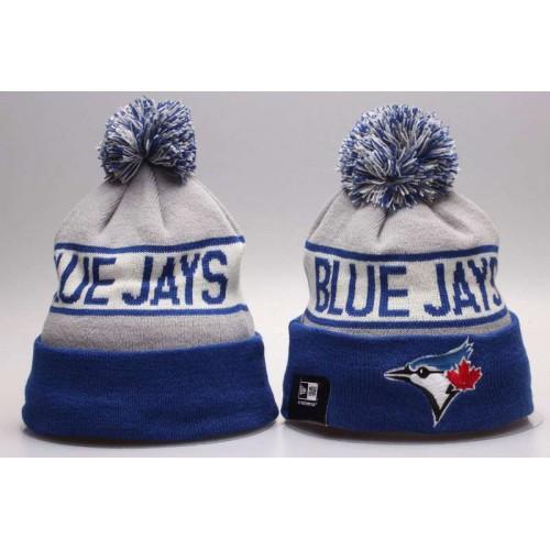 a858b359df3 MLB Toronto Blue Jays Logo Stitched Knit Beanies 01