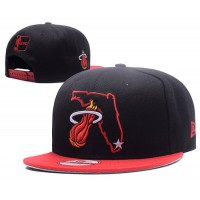 Miami Heat State Snapback Hats
