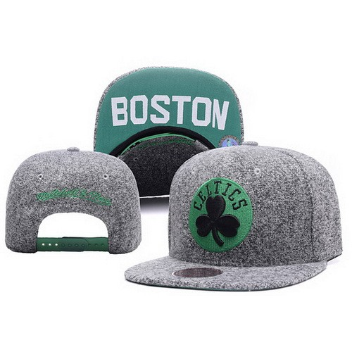 meet e4b99 d429a NBA Boston Celtics Snapback Hats Coarse Gray Blurred
