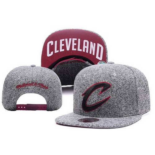 f944139da90 NBA Cleveland Cavaliers Snapback Hats Coarse Gray Blurred