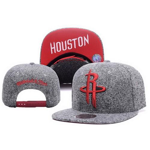 72e8b3aca3c NBA Houston Rockets Snapback Hats Coarse Gray Blurred