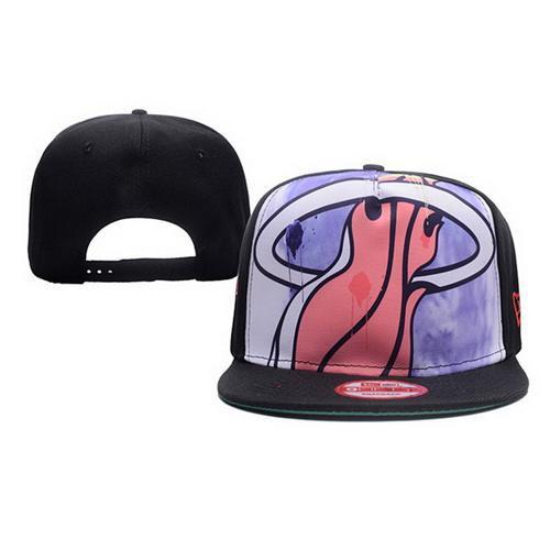 27ed70441d2 NBA Miami Heats Stitched Snapback Hats 007