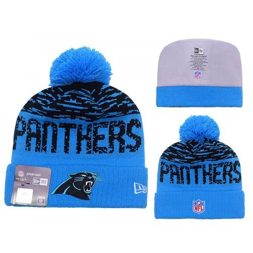 NFL Carolina Panthers Logo Stitched Knit Beanies 327