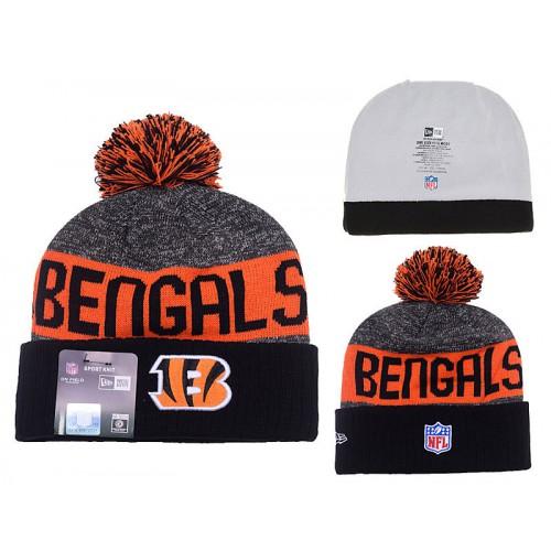 ca39bc33 NFL Cincinnati Bengals Logo Stitched Knit Beanies 05