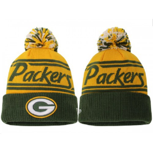 c8979626625 NFL Green Bay Packers Logo Stitched Knit Beanies 12