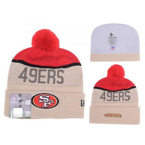 b524e1ce59b NFL San Francisco 49ers Logo Stitched Knit Beanies 17
