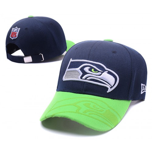 29596d8e6 NFL Seattle Seahawks Adjustable Hat 486