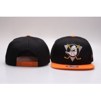 NHL Anaheim Ducks Snapback Hats 02