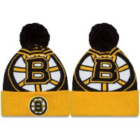 NHL Boston Bruins Logo Stitched Knit Beanies 05