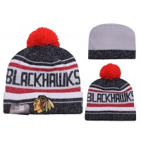 NHL Chicago Blackhawks Logo Stitched Knit Beanies 013