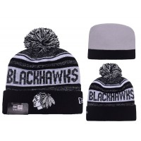 NHL Chicago Blackhawks Logo Stitched Knit Beanies 014