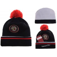 NHL Chicago Blackhawks Logo Stitched Knit Beanies 02