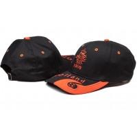 Netherlands Black Soccer Hat