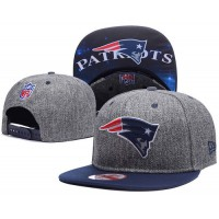 New England Patriots Charcoal Gray Snapback Hats Galaxy UnderBrim