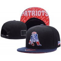 New England Patriots NFL Snapback Hats Sides American flag Logos
