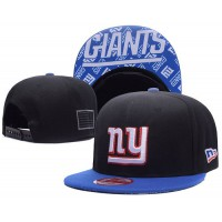 New York Giants NFL Snapback Hats Sides American flag Logos