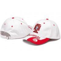 Portugal White Soccer Hat