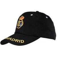 Real Madrid Black Soccer Caps