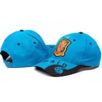 Spain Blue Soccer Hat