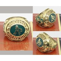 1974 Baseball Championship Rings Oakland Athletics World Series Ring